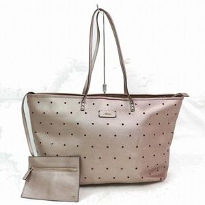 Fendi Perforated Roll Tote with Pouch 870587
